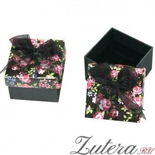 Ювелирная коробочка с розами
