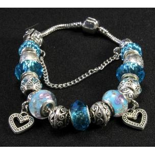 "Браслет ""Pandora Love Blue"""