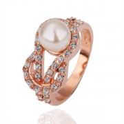 Pearl Кольцо КольцоЮвелирная бижутерия  Покрытие  Austrian Crystal SWA Element