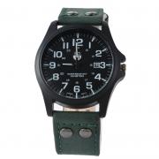 Кварцевые часы SoKi (зелёные)