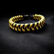 """Кожаный браслет """"Желтый Колос"""""""