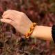 """Кожаный браслет """"Плетёнка"""" (цветная)"""