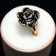 "Кольцо ""Черная Роза"""