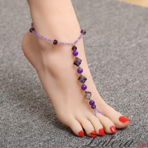Браслет на ногу BLJ018
