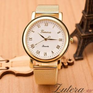 """Позолоченные часы """"Geneva"""""""