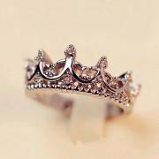 """Кольцо """"Корона"""" (посеребрение)"""