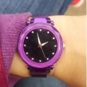 Магнитные часы (фиолетовые)