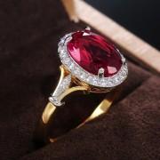 """Кольцо """"Розовый Фламинго"""""""