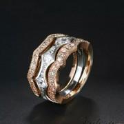 """Наборное кольцо """"Трио"""""""