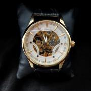 Механические мужские часы в позолоте