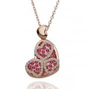Heart Pandent Покрытие  Кулон Crystal Swarovski Elements