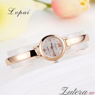 """Позолоченные часы """"Miniature"""" Lvpai"""