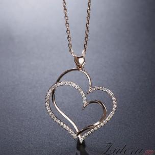 """Кулон """"Два Сердца"""""""
