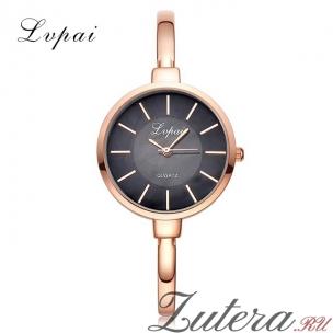 """Позолоченные часы """"Slender"""" Lvpai"""