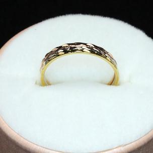 "Наборное кольцо ""Обручи"""