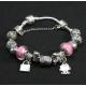 "Браслет ""Pandora Hello Kitty"" - розовый"