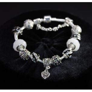 "Браслет ""Pandora White Crystal"""