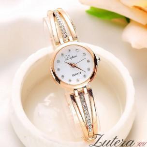 """Позолоченные часы """"Аллюр"""" JW"""