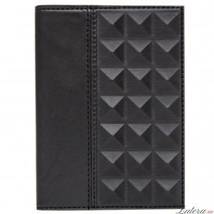 Обложка для паспорта «Геометрия» (Черная)