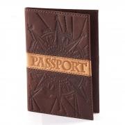Обложка для паспорта «Роза ветров»