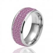 Pink Crystal Кольцо Freeshipping, Кольцоs, Fashion  , nickel free, Покрытие , Горный хрусталь